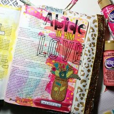 Bible Journaling by Briana Garner Miller @brianamiller8693   1 John 2:26