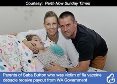 "The parents of a WA girl who has been awarded millions in damages after a defective flu jab left her severely disabled say they it's a ""massive relief"" the legal battle is over."