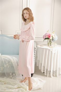 Chance Royal Style Island Cashmere Night Gown Women – Prinsty