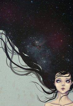 Galaxy art <3