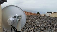 Instalación #WiFiCanarias #AirInternet en el Norte de #Tenerife #ubiquiti #nanoBeam