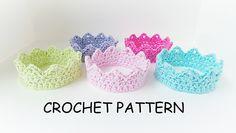 Crochet Crown Pattern By KJD pattern by Kerry Jayne Designs
