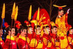 """Eine überlebensgroße Terrakotta-Armee begrüßt die Besucher. Das Londoner """"Magic..."""