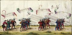 Albrecht Altdorfer (c. 1480 -1538), Hans Burgkmair (1473-1531), Albrecht Dürer (1471-1528) & others — Triumphal Procession, 1517 (1440x707)