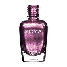 Zoya Rea Nail Polish | Rea by Zoya can be best described as: A silvery, taupe-kissed mauve-purple in a metallic foil shimmer finish.An edgy purple steel shade that's unexpectedly gorgeous. | Metallic | Intensity: 5