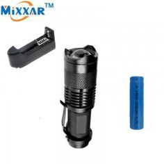 7W 1200LM 1Mode Mini Zoom In//Out Q5 LED Flashlight Torch Camping Light HOT