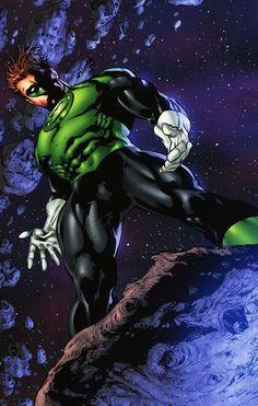 Green-Lantern Hal Jordan by Ed Benes