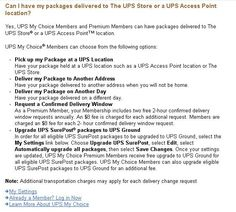 STOP UPS PACKAGE THEFT: Have your shipment held at your nearest UPS store.https://www.ups.com/.../umc_deliver_to_the_ups_store.html