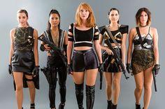 Bad Blood Squad Halloween Costumes.