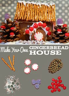 5 Ways to Make Your Own #Gingerbread House (From Scratch!) This Weekend (http://blog.hgtv.com/design/2013/12/13/5-ways-to-make-your-own-gingerbread-house-from-scratch-this-weekend/?soc=pinterest)