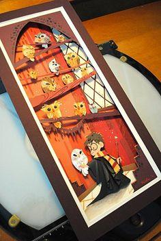 Papercraft Harry Potter