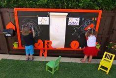 Kids outdoor space