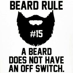 Beard rule#15 Beard Look, Beard Haircut, Beard No Mustache, Moustache, Awesome Beards, Bearded Men, Beard Rules, Beard Game, Big Beard