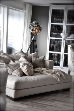 A cozy place to snuggle with the family and watch movies or do family studies, read, etc.