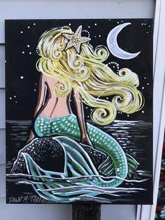 Mermaid Images, Mermaid Art, Vintage Mermaid, Mermaid Tails, Art Vampire, Vampire Knight, Mermaid Drawings, Art Drawings, Mermaid Paintings