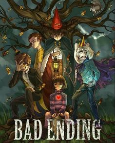Bad Ending Cartoons
