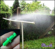 20&50 Irrigation Garden Sprinkler 180° Watering System Hose Plant Drip Misting #BrandNewHighQuailty