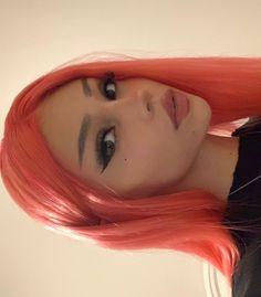 Edgy Makeup, Cute Makeup, Pretty Makeup, Makeup Looks, Hair Makeup, Aesthetic Hair, Aesthetic Makeup, Hair Inspo, Hair Inspiration