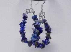 Earrings Loop/Hoop/Teardrop Casual Boho Stone Chips por RisingSwan