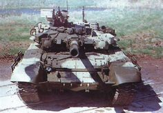 T-90. Speak of the devil.