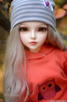 Uploaded by Spont. Find images and videos about doll and bjd on We Heart It - the app to get lost in what you love. Enchanted Doll, Cute Cartoon Girl, Anime Girl Cute, Beautiful Barbie Dolls, Pretty Dolls, Ooak Dolls, Blythe Dolls, Cute Baby Dolls, Realistic Dolls