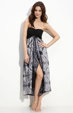 Robin Piccone Tie Dye Cover-Up Dress