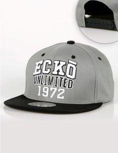 Ecko Unlimited 1972 Snapback Grey Black €30