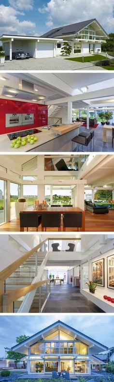 Fachwerkhaus modern mit garage galerie und glas architektur fachwerk innen sichtbar weiß
