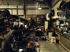 Herencia Custom Garage    Triumph Bobber  http://www.bonnefication.com/herencia-custom-garage-triumph-bobber/