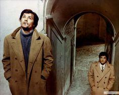 Alain Delon, Giancarlo Giannini - La prima notte di quiete - Regia: Valerio Zurlini