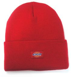 Red Beanie by Dickies. Buy for $7 from Amazon.com