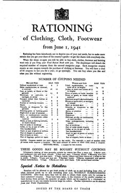 I have 66 clothing coupons to last me one year. What will my ration buy me? Compared with the value of any individual garment, 66 coupons seems like plenty. But to look at it another way, how many . British History, World History, Family History, World War Ii, American History, A Thousand Years, The Last Summer, Make Do And Mend, Socialism