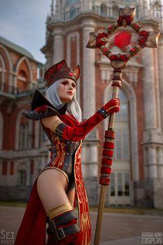 Amazing Cosplay, Best Cosplay, Fantasy Women, Fantasy Girl, Chica Fantasy, Warcraft Art, Steampunk Cosplay, Wow Art, Cosplay Girls