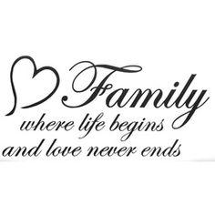 Väggdekor väggord väggtext Family where life begins and Family First Tattoo, Family Tattoos, Sister Tattoos, Life Tattoos, Hair Tattoo Designs, Owl Tattoo Design, Tatto Quotes, Sign Quotes, Family Tattoo Quotes