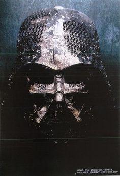 Star Wars VII Artes Conceituais 15out2014 - capacete de Darth Vader