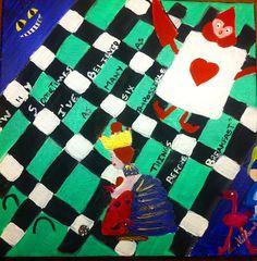 Queen of hearts Croquet