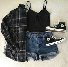 which outfit is your favorite? Best Picture For summer outfits crop top For Your Taste You are looki Soft Grunge Outfits, Edgy Summer Outfits, Cute Casual Outfits, Edgy Outfits, Dance Outfits, Soft Grunge Style, Grunge Fashion Soft, Grunge School Outfits, Rock Outfits