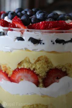 Try this delicious Patriotic Trifle recipe!