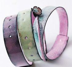 SWEET - emaliowane bransolety (proj. pracownia projektoffnia)