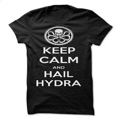 KEEP CALM and HAIL HYDRA by Golubaja - #shirts! #blue shirt. SIMILAR ITEMS => https://www.sunfrog.com/Valentines/KEEP-CALM-and-HAIL-HYDRA-by-Golubaja-87158743-Guys.html?68278