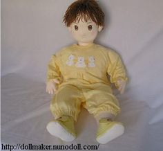 The Best Free Patterns to Sew Dolls: Life Size baby Doll
