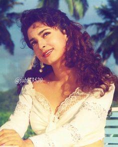Most Beautiful Bollywood Actress, Beautiful Actresses, Juhi Chawla, Indian Movies, Katrina Kaif, Bollywood Stars, Timeless Beauty, Celebs, Glamour