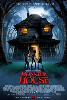 Monster House - Review: Monster House (2006) is a family-friendly horror movie that is a must-see for each and every… #Movies #Movie