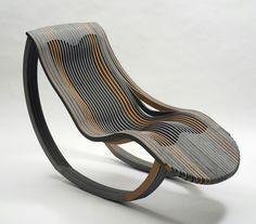 Anathemic chaise longue by Marco Tonci Ottieri