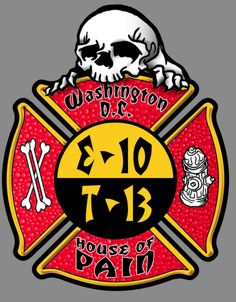 WASHINGTON D.C FD E-10 T-13