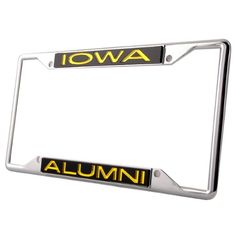 WinCraft Penn State University L389197 Inlaid Metal LIC Plate Frame