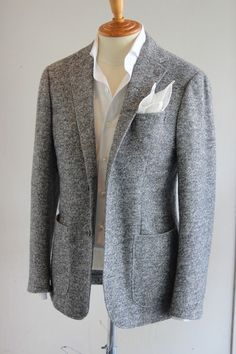 RING JACKET LUXURY TWEED JACKET ...