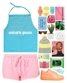 UNICORN QUEEN by innesdesigns on Polyvore featuring NIKE, Victoria Beckham, Komono, Étoile Isabel Marant, philosophy, Pelle, Nails Inc., J.Crew, Brinkhaus and The Body Shop