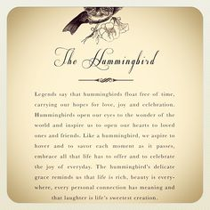 Photo by Brooke Burke on February Hummingbird Quotes, Hummingbird Symbolism, Hummingbird Tattoo Meaning, Hummingbird Spiritual Meaning, The Hummingbird, Dragonfly Symbolism, Brooke Burke, Spirit Guides, Tattoos With Meaning