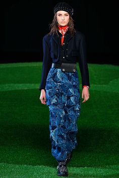 Marc by Marc Jacobs Fall 2015 Ready-to-Wear Fashion Show - Julia Bergshoeff